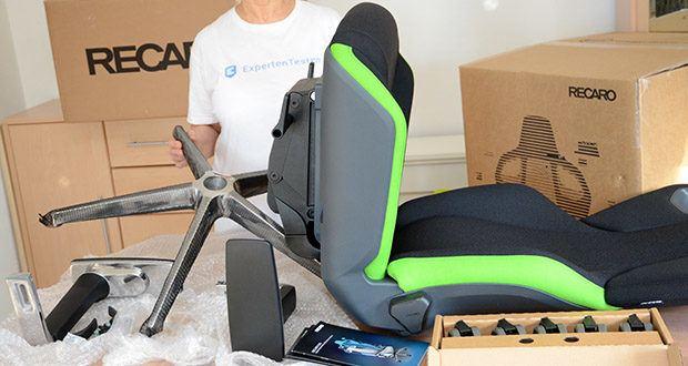 Recaro Gamingstuhl Exo FX im Test - eine spezielle Sitzschale, welche die besten Elemente aus dem Automobilbereich mit dem Gaming-Markt verbindet
