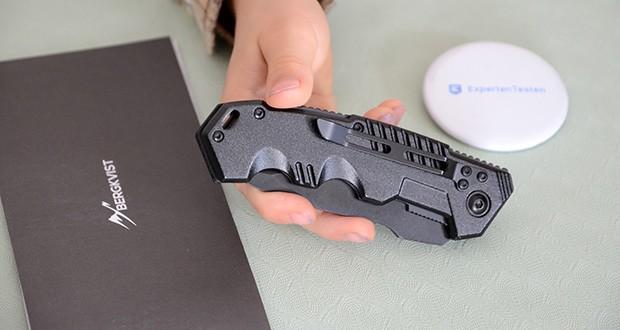 BERGKVIST K10 Zweihandmesser Taschenmesser im Test - Aluminium Griff
