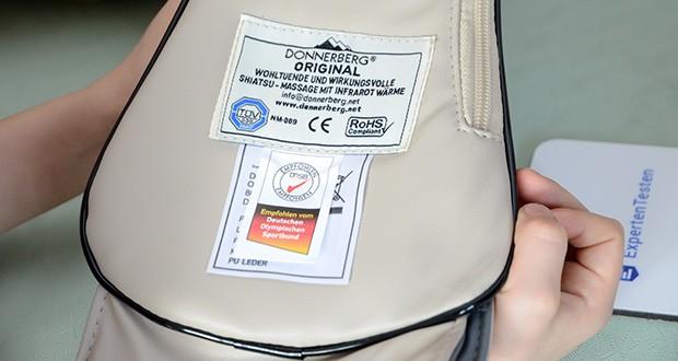 Donnerberg Original Premium NM089 Nackenmassagegerät im Test - auf elektromagnetische Verträglichkeit TÜV SÜD geprüft