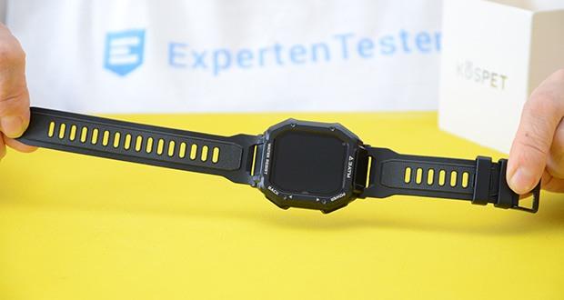 KOSPET Rock Smartwatch im Test - Speicher 128 Mb; Bluetooth 5.0