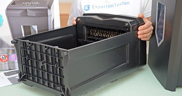 Peach Altenvernichter PS500-70 im Test - Dauerbetrieb bis zu 30 Minuten oder über 2000 Blatt