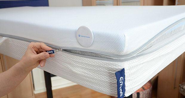 Emma Two Matratze 90x200cm im Test - mehr Komfort dank Airgocell®-Schaum