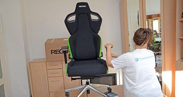 Recaro Gamingstuhl Exo FX im Test - die Sitzschale bietet, in Zusammenarbeit mit dem Sitzpolster, höchste Ergonomie, stützt deinen Körper und entlastet ihn zugleich
