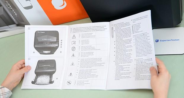 Peach Altenvernichter PS500-70 im Test - neben Papier vernichtet der Schredder auch Kreditkarten