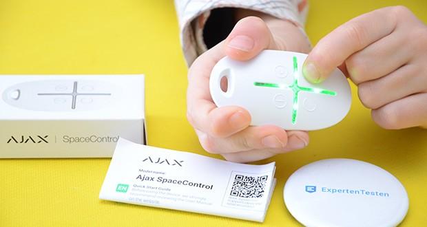 Ajax Alarmanlage im Test - Funkfernbedienung mit Paniktaste für das Sicherheitssystem