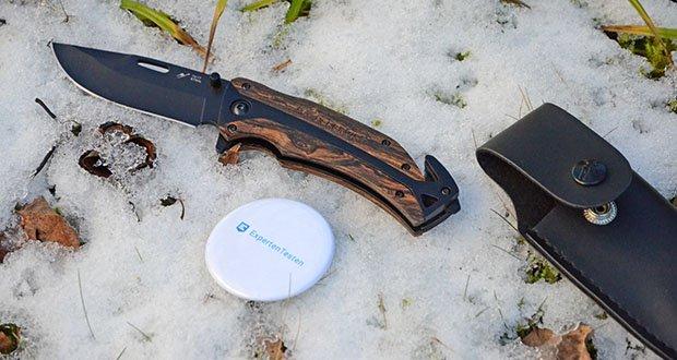 BERGKVIST K29 Tiger Jagdmesser im Test - begleitet dich auf deinen Abenteuern als Jagdmesser, Angelmesser, Kochmesser, Arbeitsmesser, Fahrtenmesser oder Überlebensmesser