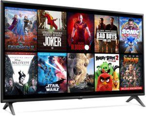 Viele Apps wie Youtube, Netflix, Spotify oder ein Blu-Ray System bieten unvergessliche Spaß in hoher Auflösung bei den Smart TV- Geräten.