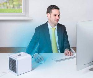 Mini Klimaanlagen sind flexibel und somit überall einsetzbar.