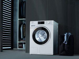 Miele bietet auch Waschmaschine und Trockner in einem Gerät an.