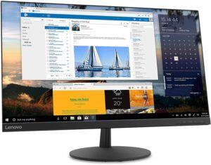 Die Bildschirmauflösung bei einem 27 Zoll Monitor muss unbedingt stimmig sein.