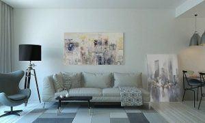 Die Gesamtkosten für die Polsterung einer Couch