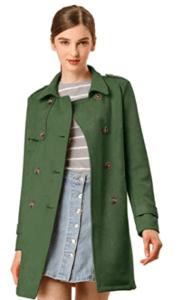 Wichtige Kaufkriterien für Mantel grün