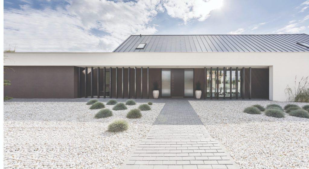 Modernes Haus mit architektonischen Highlights