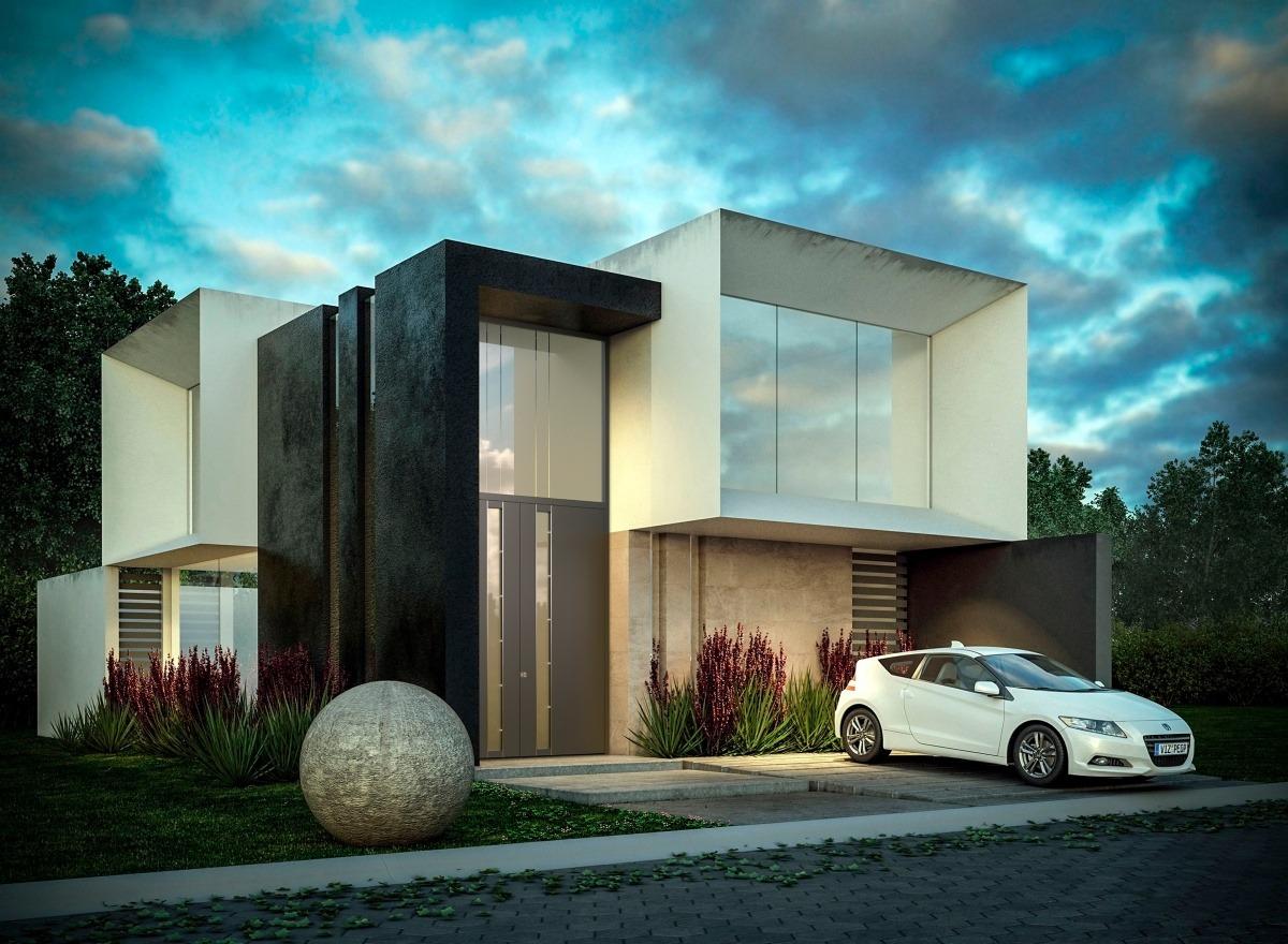 Interessantes modernes Haus