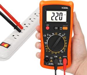 Grundsätzlich unterscheidet man zwischen digitalem und analogen Multimeter, wobei man vor allem für Anfänger den digitalen Multimeter empfiehlt.