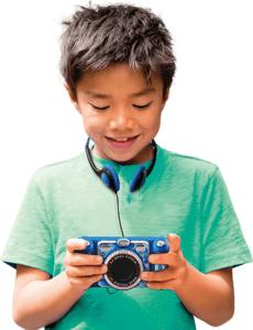 Kinderkameras sind eine tolle Möglichkeit für Ihr Kind eigenständig Fotos und Videos zu machen.