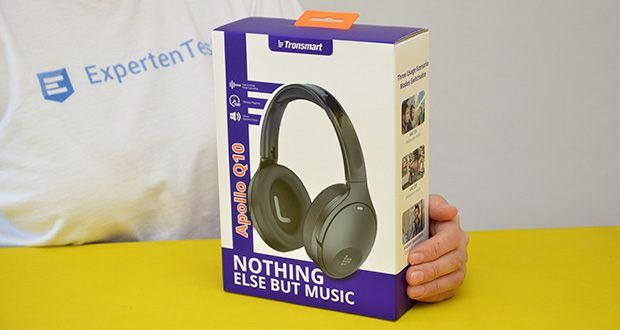 Bluetooth Kopfhörer Tronsmart Apollo Q10 im Test - Verpackungsabmessungen : 24.2 x 16.4 x 7.4 cm; Artikelgewicht: 225 g