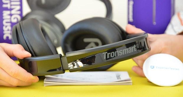 Bluetooth Kopfhörer Tronsmart Apollo Q10 im Test - das um 90 Grad drehbare Design eignet sich sehr gut für den täglichen Gebrauch, Musikwiedergabe, DJ, Musikproduktion, Mischen, Überwachen, Hören usw. Das filigrane, faltbare Design ist platzsparend
