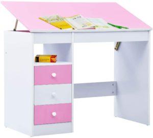 Die passende Größe des Schreibtisches fördert das ergonomische Sitzen. Beim ergonomischen Sitzen sind die Füße flach auf dem Boden und die Schenkel bilden einen 90° Winkel.