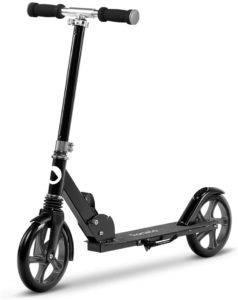 Bremsen bei Kinderroller sind im Straßenverkehr und auch auf dem Skaterplatz sehr wichtig für die Sicherheit.