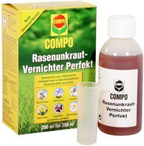 Herbizide können gesprüht oder gegossen und bei trockener Witterung angewendet werden.