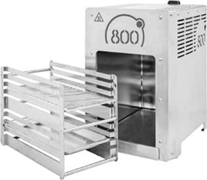 Alternativ kann auch mit herkömmlichen Grillmodellen gearbeitet werden. Diese erreichen jedoch nicht annähernd so hohe Temperaturen.