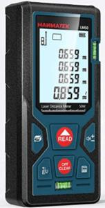 Eine Alternative zum Laser Entfernungsmesser ist der klassische Zollstock.