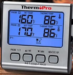 Um den idealen Gargrad zu bestimmen, kann ein Bratenthermometer sehr nützlich sein. So müssen Sie ihr Fleisch nie wieder zum Testen anschneiden.