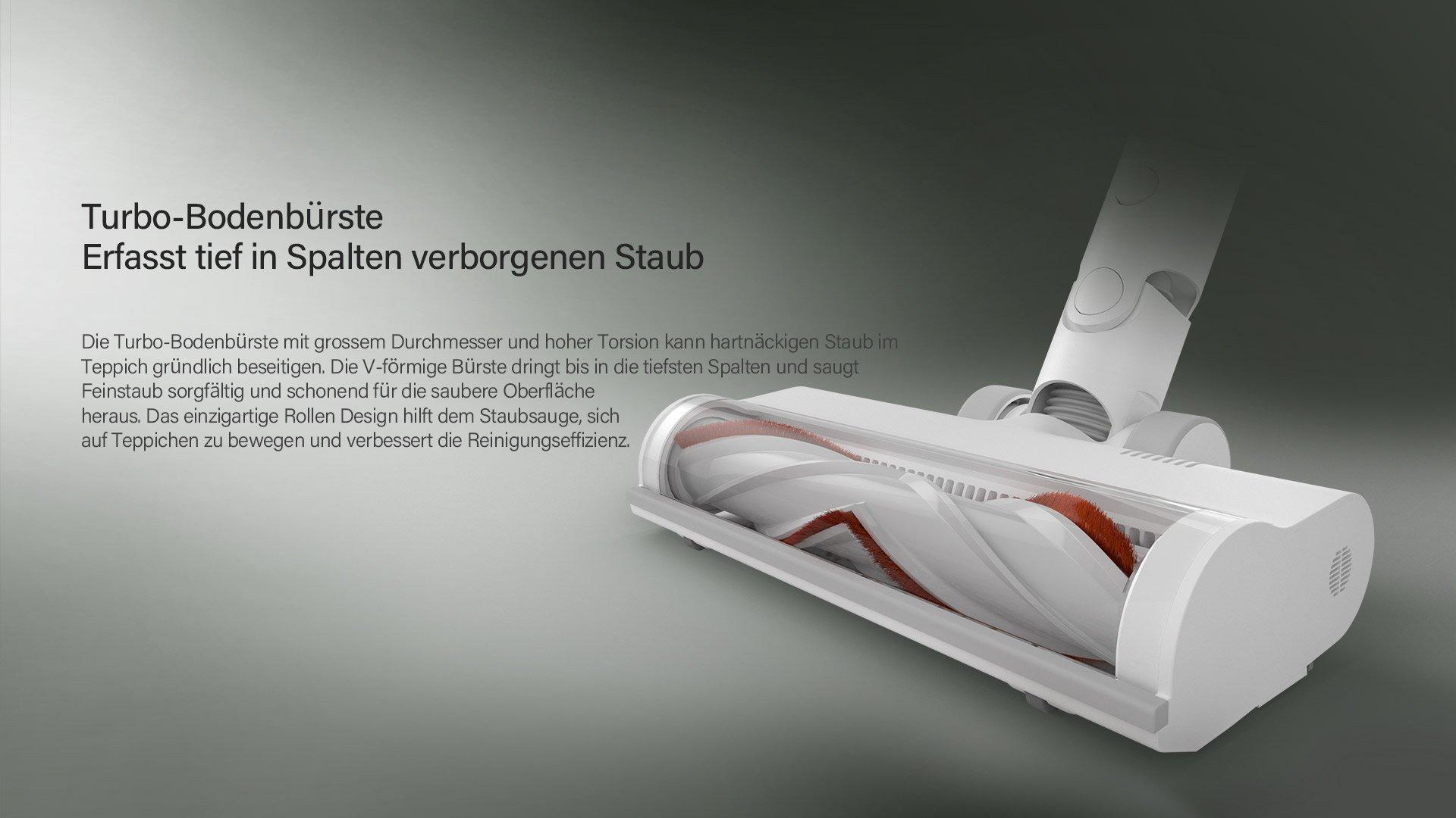Turbo Bodenbürste des G9 Staubsaugers