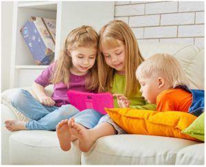 Mittels WLAN-Funktion können Apps und Filme bereits vorab heruntergeladen werden, um das Tablet auch ortsunabhängig verwenden zu können.