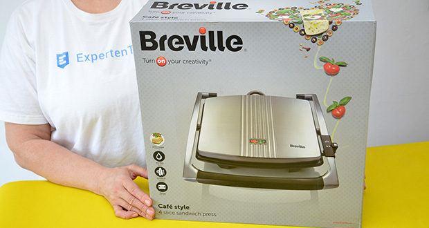 Breville Panini Grill Sandwichtoaster im Test - ein wichtiges Bestandteil jeder Kücheneinrichtung