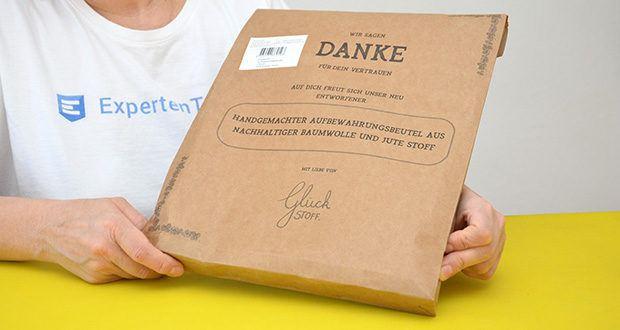 Glueckstoff Aufbewahrungsbox Brot Korb im Test - Familienunternehmen spezialisiert auf die Herstellung von plastikfreien Haushaltsprodukten aus natürlichen Stoffen