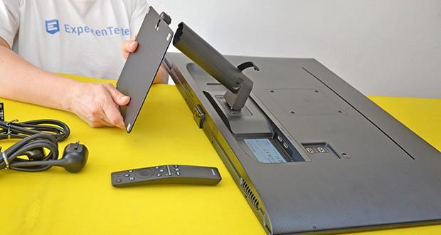 Samsung M5 Smart Monitor 32 Zoll im Test - die Flicker Free-Technologie eliminiert ermüdendes Bildschirmflimmern und der Eye Saver-Modus minimiert Blaulichtemissionen