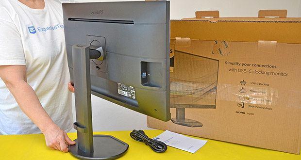 Philips 273B9 27 Zoll Monitor im Test - drei-seitig schmaler Rahmen