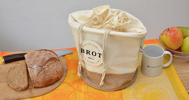 Glueckstoff Aufbewahrungsbox Brot Korb im Test - harmonisches zuhause