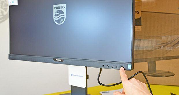 Philips 273B9 27 Zoll Monitor im Test - Philips Powersensor zur Stromreduzierung und Umweltschonung