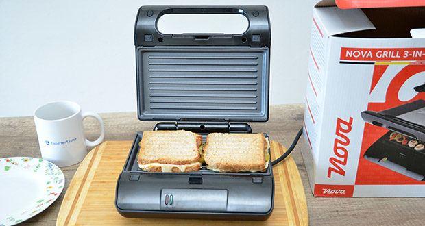 Nova Pro Multi- & Sandwich-Grill im Test - Pro Multi- & Sandwich-Grill