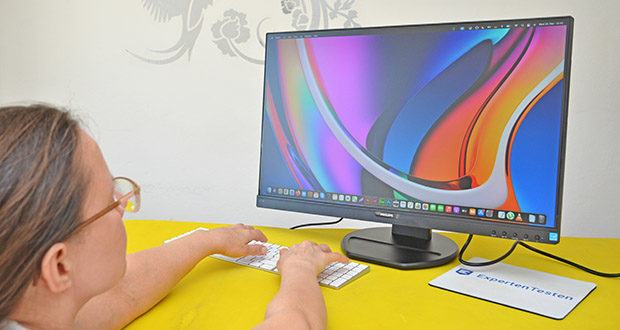 Philips 273B9 27 Zoll Monitor im Test - FlickerFree Technologie; LowBlue Modus; SmartErgoBase