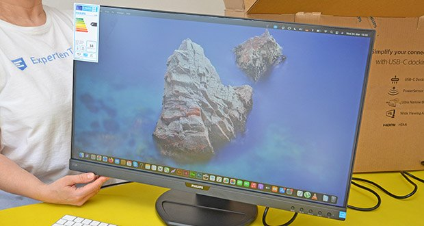 Philips 273B9 27 Zoll Monitor im Test - über das USB-C Kabel als Dockingstation zu Ihrem Notebook verwenden