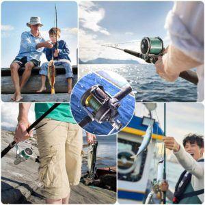 Beim Grundfischen in trüben Gewässern bieten sich grüne, braune oder graue Angelschnüre an. Sie sind gut an die Umgebung angepasst und werden so von Fischen weniger schnell gesehen.