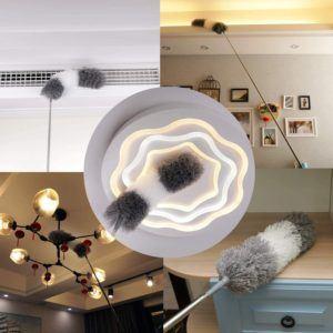 Häufig verstauben Gegenstände schneller als man denkt. Um wieder Glanz und Sauberkeit in seine eigenen vier Wände zu bringen eignet sich ein Staubwedel.