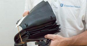 Reisetasche mit Rollen im Internet aus dem Test kaufen