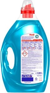 Man sollte immer die Mengenangaben auf dem Waschmittel beachten, damit man nicht zu viel oder zu wenig verwendet.