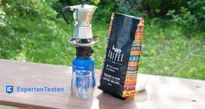 Kaffeebohnen bei Stiftung Warentest im Test