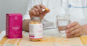 Welche Formen von Vitamin B12 gibt es in einem Testvergleich?