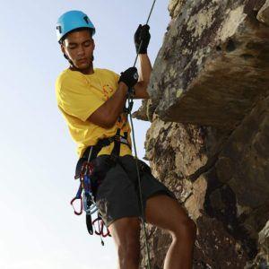 Klettergurte - dienen dem eigenen Schutz um einen möglichen Absturz zu verhindern.