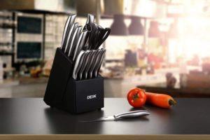 Für Anfänger und Hobby-Köche reicht ein Küchenmesserset, mit 4–6 Messertypen vollkommen aus.