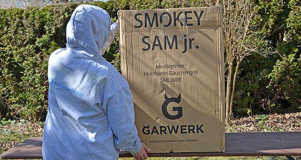GARWERK Smokey Sam Junior im Test - Gewicht: 18 kg; Durchmesser Grillrost: ca. 38 cm