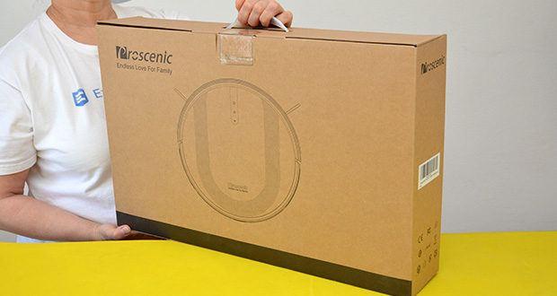Proscenic 850T Saugroboter mit Wischfunktion im Test - 3000Pa starke Saugleistung