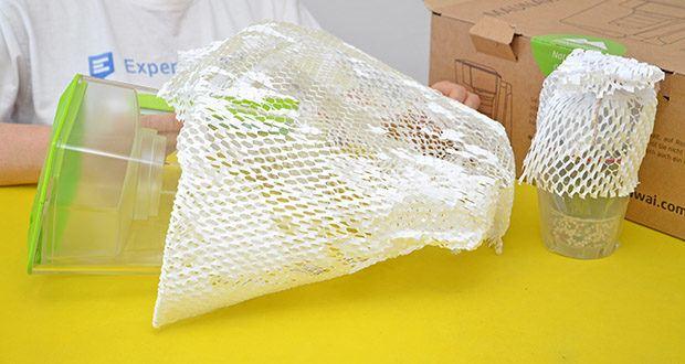 MAUNAWAI NEU Kanne Kini Tischwasserfilter im Test - aus lebensmittelechtem SMMA Kunststoff hergestellt